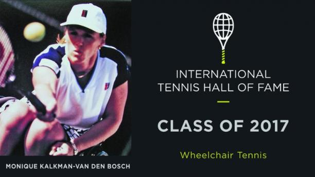 Monique Kalkman-Van den Bosch was elected for induction to the International Tennis Hall of Fame.