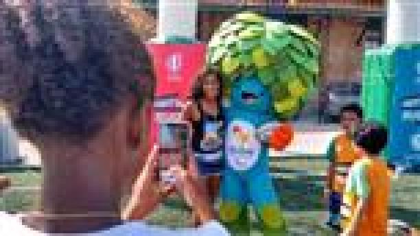 Rio 2016 Paralympic Games mascot Tom