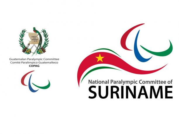 Sao Paulo 2017 - Guatemala Surinam logos