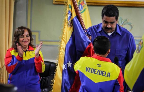 Venezuela - Sao Paulo 2017 - Nicolas Maduro