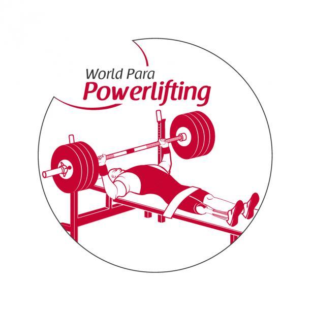Para powerlifting logo