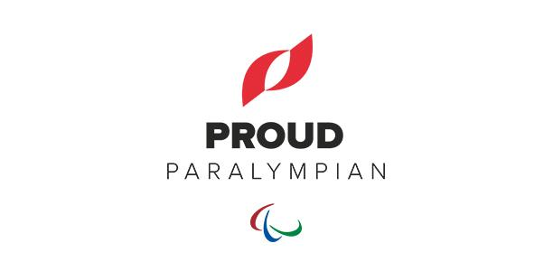 The official logo of Proud Paralympian