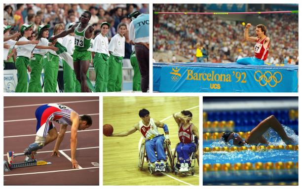 para athletes compete in their sport