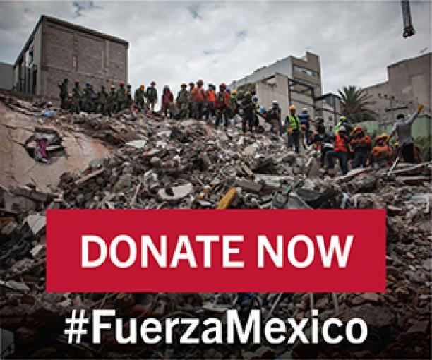 #FuerzaMexico - Banner