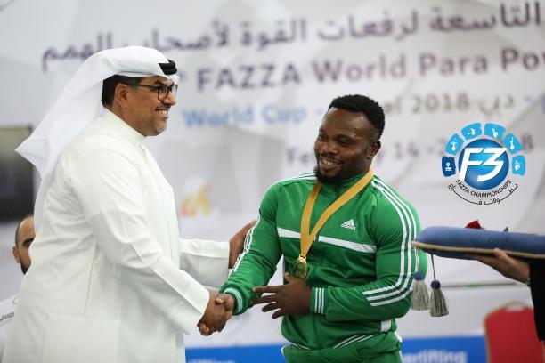 Paul Kehinde - Nigeria - Fazza 2018 World Cup