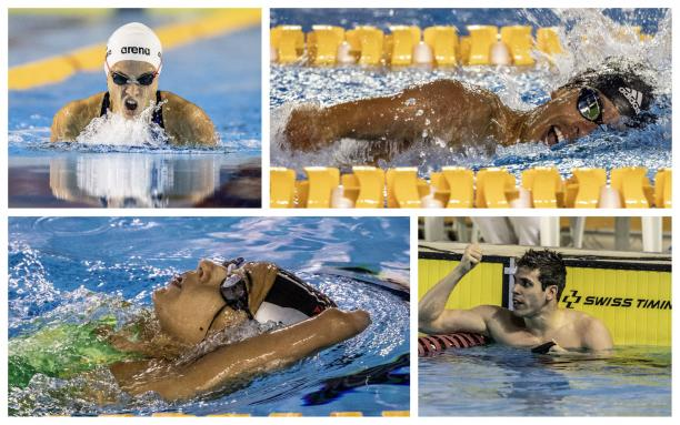 Several Americas and Brazilian swimming records were set at the Sao Paulo World Series