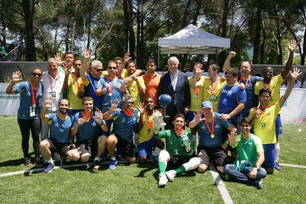 Brazil won their fifth world title in Madrid