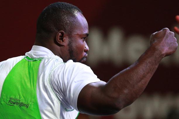 male powerlifter Roland Ezuruike