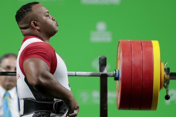 Colombian powerlifter Fabio Torres