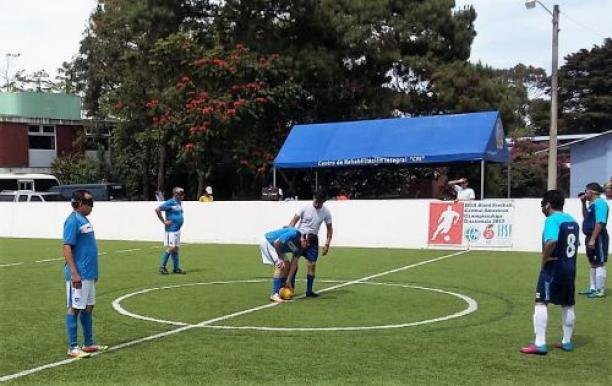 Guatemala staged regional blind football competition