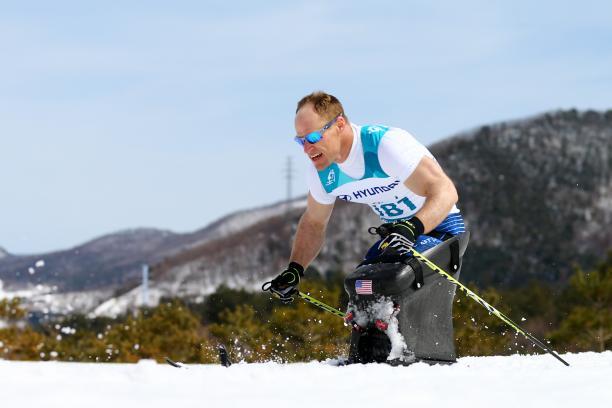 USA´s Nordic skier Daniel Cnossen
