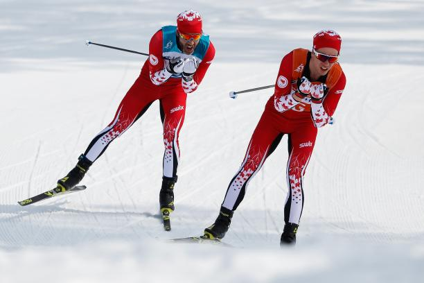 male Para Nordic skier Brian McKeever