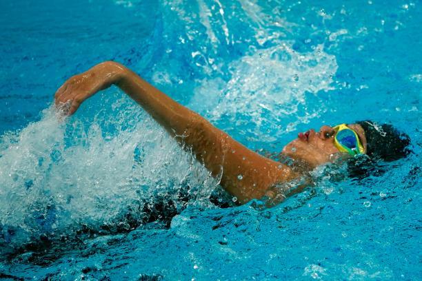 Singapore's swimmer Yip Pin Xiu