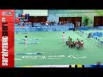 Beijing 2008 Paralympic Games Boccia Pairs Mixed BC 4 Semi Final BRA vs. CZE - Paralympic Sport TV