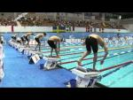 Men's 100m Freestyle S8 - 2011 IPC Swimming Euros