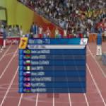 Men's 100m T13 - Beijing 2008 Paralympic Games