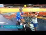 Jiri Jezek - London Velodrome training, Paralympics 2012 - Paralympic Sport TV