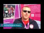Jeff Fabry - My biggest inspiration, Paralympics 2012 - Paralympic Sport TV