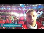Brandon Wagner - Live from the field of the Opening Ceremonies, Paralympics 2012 - Paralympic Sport TV
