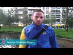Fatimir Seremeti - Ready for the opening ceremony, Paralympics 2012 - Paralympic Sport TV