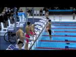 Swimming Men's 100m Backstroke - S7 Final - London 2012 Paralympic Games - Paralympic Sport TV