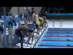 Swimming - Men's 100m Butterfly - S8 Heat 1 - 2012 London Paralympic Games - Paralympic Sport TV