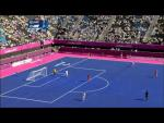 Football - Men's 7-a-side - 5/6 classification - NED v ARG - 2nd half - London 2012 Paralympic Games - Paralympic Sport TV