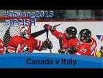 Ice sledge hockey - Canada v Italy - 2013 IPC Ice Sledge Hockey World Championships A Pool Goyang - Paralympic Sport TV
