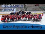 Ice sledge hockey - Czech Republic v Norway - 2013 IPC Ice Sledge Hockey World Championships A Pool - Paralympic Sport TV