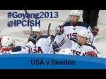 Ice sledge hockey - USA v Sweden - 2013 IPC Ice Sledge Hockey World Championships A Pool Goyang - Paralympic Sport TV