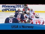 Ice sledge hockey - USA v Norway - 2013 IPC Ice Sledge Hockey World Championships A Pool Goyang