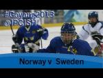 Ice sledge hockey - Norway v Sweden - 2013 IPC Ice Sledge Hockey World Championships A Pool Goyang