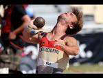Athletics - Mathias Mester - men's shot put F41 final - 2013 IPC Athletics World C... - Paralympic Sport TV