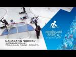 Canada vs Norway highlights | Ice sledge hockey | Sochi 2014 Paralympic Winter Games - Paralympic Sport TV