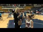 INTERVIEW: Courtney Ryan (USA) | 2014 IWBF Women's World Wheelchair Basketball Championships - Paralympic Sport TV