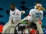Wheelchair fencing highlights - Rio 2016 Paralympic Gamaes - Paralympic Sport TV