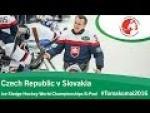 Czech Republic v Slovakia| Prelim | 2016 Ice Sledge Hockey World Championships B-Pool, Tomakomai - Paralympic Sport TV