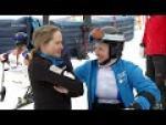 Jakub Krako and guide Branislav Brozman   Downhill   2019 WPAS Championships - Paralympic Sport TV