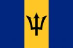 Barbados' flag