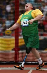 Algirdas Tatulis competing