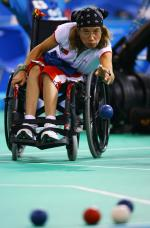 Cristina Gonçalves competing