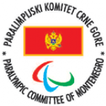 Logo National Paralympic Committee of Montenegro