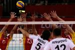'Bosnia and China mens sitting volleyball teams' logo