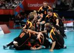 Germany's men's sitting volleyball team