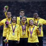 'Brazilian sprinters Top 50 moments Icon' logo