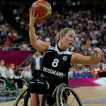 'Germany Wheelchair Basketball Top 50 moments icon' logo