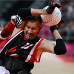 'Canada Wheelchair Rugby Top 50 moments icon' logo