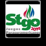 Logo Para South American Games Santiago 2014