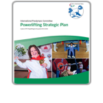 IPC Powerlifting Strategic Plan Cover Icon