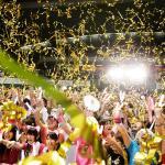 'Tokyo celebrates winning the 2020 Games' logo